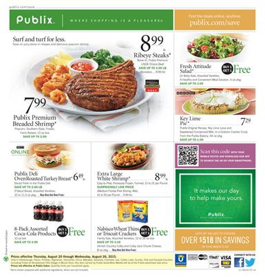 Publix Weekly Ad Preview Aug 20 2015