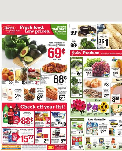 Ralphs Weekly Ad Preview Aug 26 - Sep 1 2015
