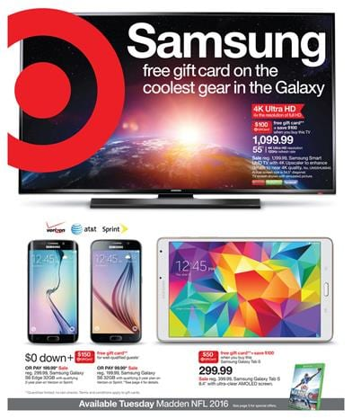 Target Ad Preview Aug 23 - Aug 29 2015