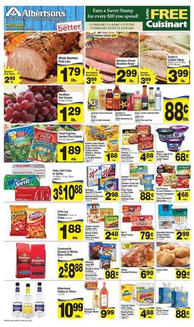 Albertsons Weekly Ad Preview Sep 23 - Sep 29 2015