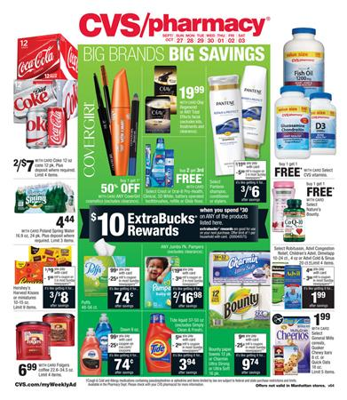 CVS Weekly Ad Preview Sep 27 2015