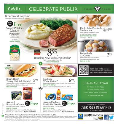 Publix Weekly Ad Preview Sep 17 - Sep 23 2015