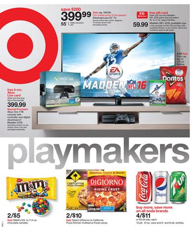 Target Weekly Ad Electronics Aug 30 - Sep 5 2015
