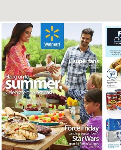 Walmart Weekly Ad Labor Day Grilling September 2015