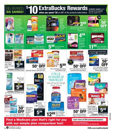 CVS Ad Pharmacy Prices Last Day Oct 10