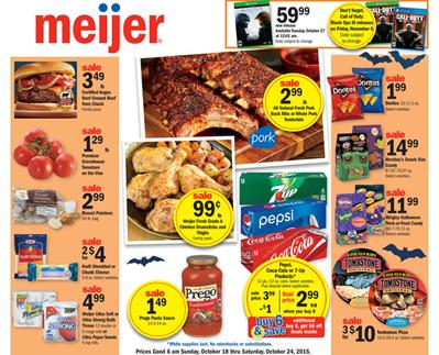 Meijer Weekly Ad Products Oct 18 2015