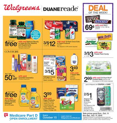Walgreens Ad Preview Oct 11 2015