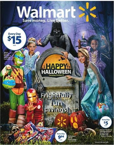 Walmart Ad Halloween Oct 18 2015