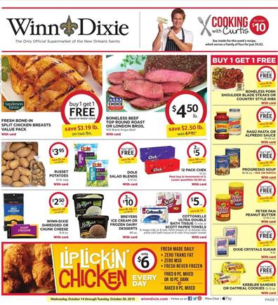 Winn Dixie Weekly Ad Products Oct 14 2015