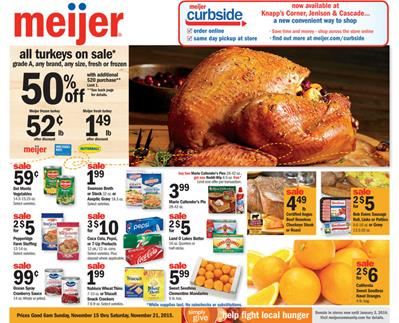Meijer Ad Preview Nov 15 2015