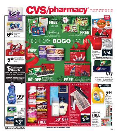CVS Ad Christmas Products Dec 6 2015