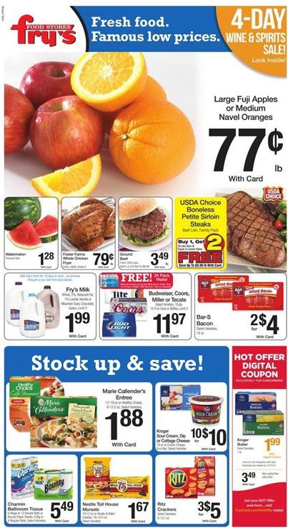 Fry's Weekly Ad Holiday Products Dec 9 2015