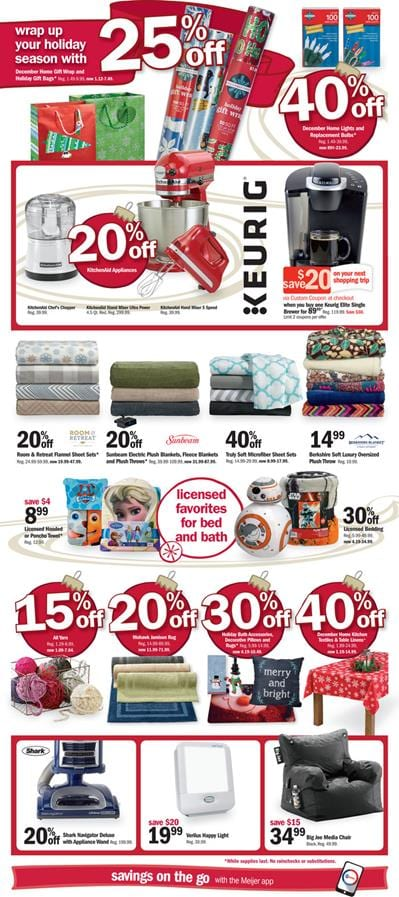 Meijer Holiday Gifts Ad Prices 2015