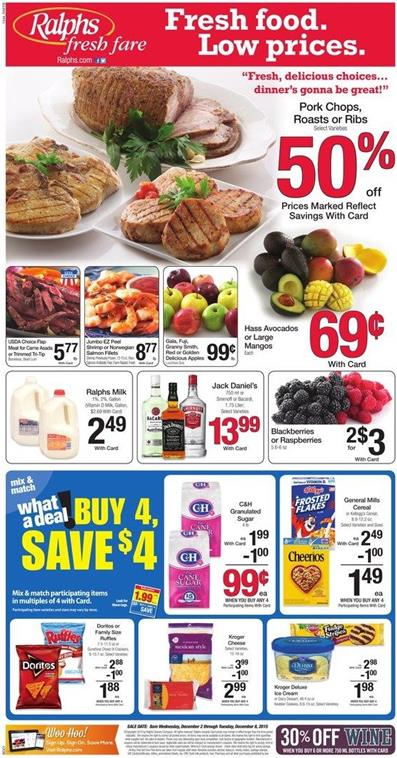 Ralphs Ad Dec 4 2015 Products On Sale