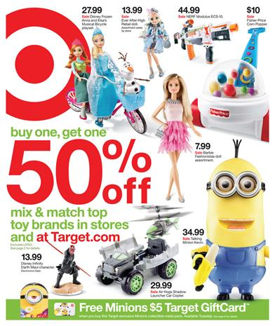 Target Ad Toy Sale Gifts For Christmas December 2015