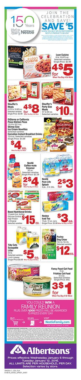 Albertsons Weekly Ad Jan 10 2016