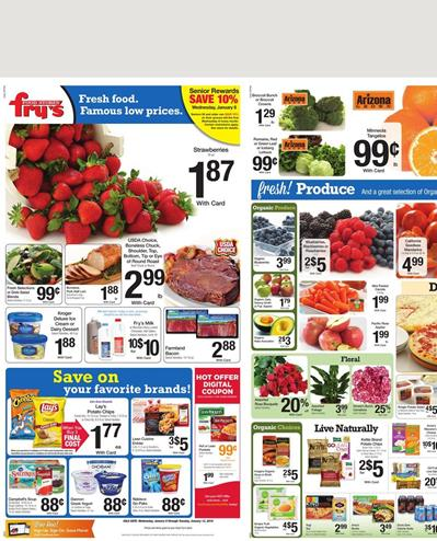 Fry's Weekly Ad Jan 9 2016