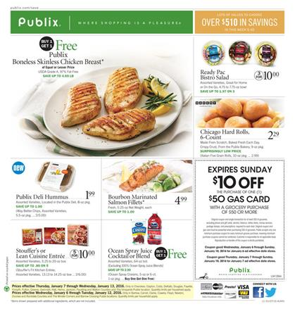 Publix Weekly Ad Offers Jan 9 2016