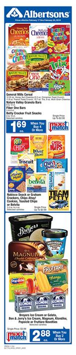 Albertsons Weekly Ad Feb 20