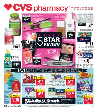 Make The List For CVS Ad Shopping Today