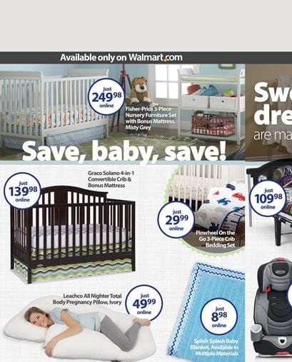 Save A Lot More with this Walmart Baby Ad !