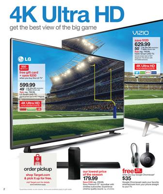 Target HD TV Models and Entertainment