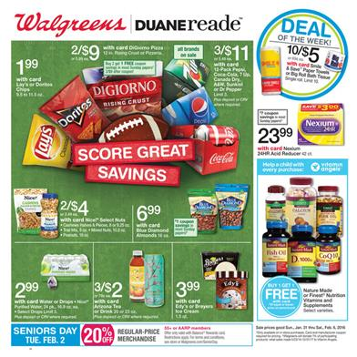 Walgreens Ad Feb 2 Game Time Snacks