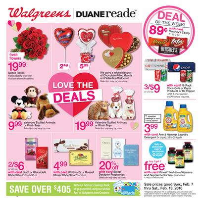 Walgreens Ad Valentine's Day Gifts 2016