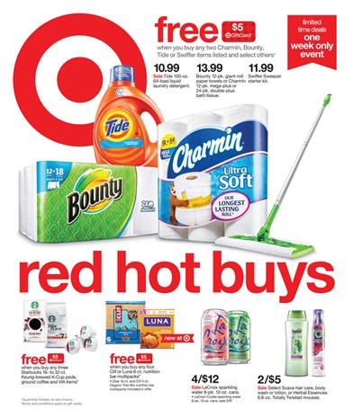 Weekly Shop via Target Ad Feb 14