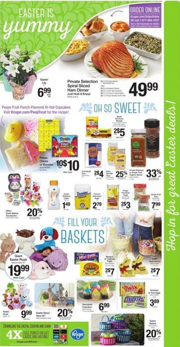 Easter Candy Kroger Ad
