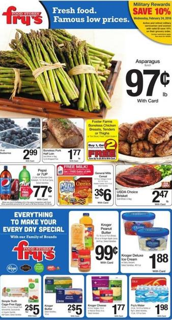 Fry's Ad Easter 2016