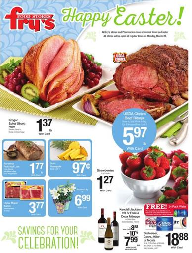 Fry's Ad Easter Mar 23 2016