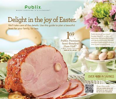Publix Easter Ad Mar 2016