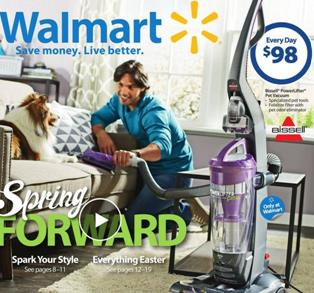 Walmart Powerlifter Pet Bagless Vacuum March 2016