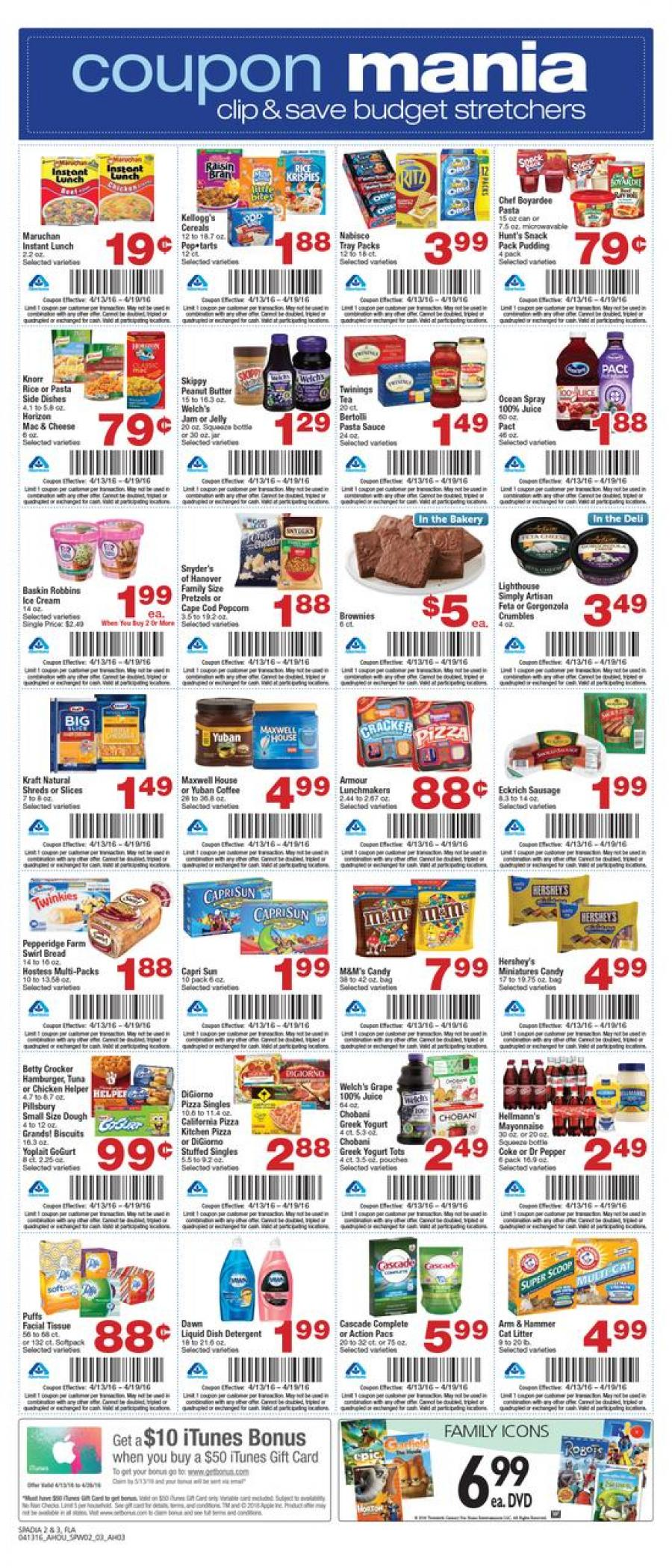 Albertsons Weekly Ad 16 Apr 2016