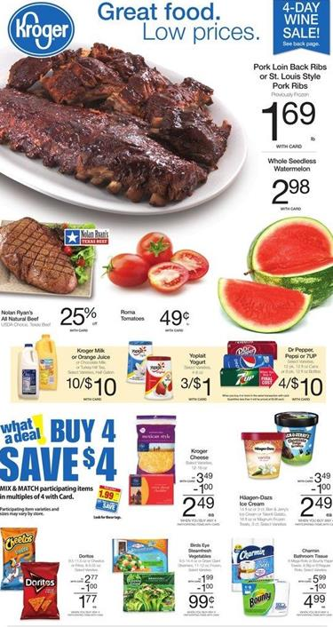 Kroger Weekly Ad April 27 2016 Outdoor and Grill