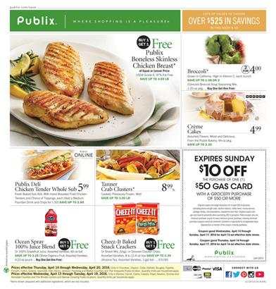 Publix Weekly Ad Apr 16 2016