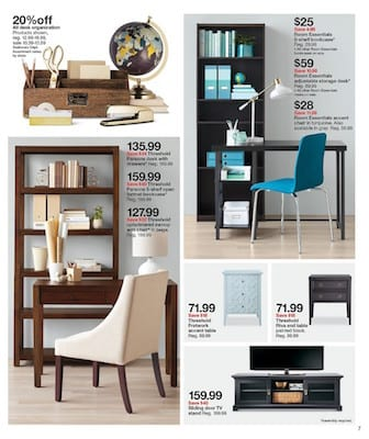 Target Weekly Ad Home Decoration Apr 2016