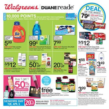 Walgreens Weekly Ad Apr 3 2016