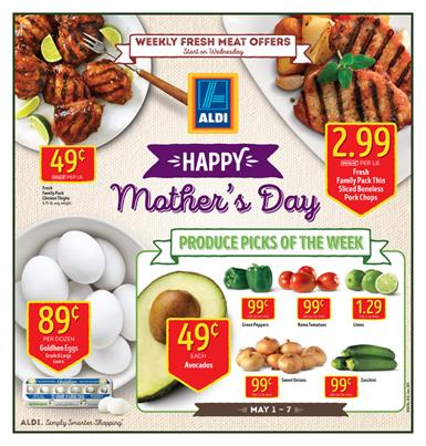 ALDI Weekly Ad Mother's Day Sale 2016