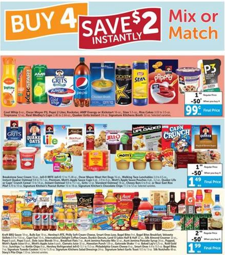 Albertsons Mix or Match 18 May 2016