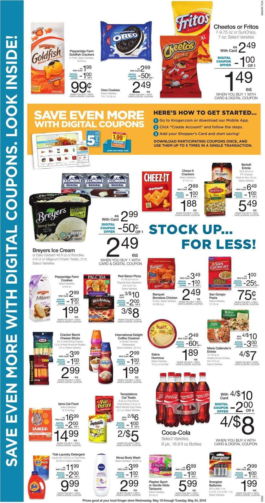 Kroger Weekly Ad Coupon Deals And In Ad Items Weeklyads2