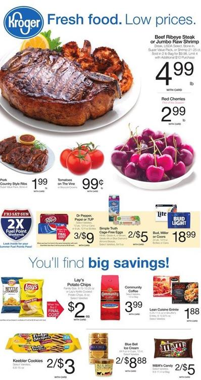 Kroger Ad May 4 2016 Savings and Product Range