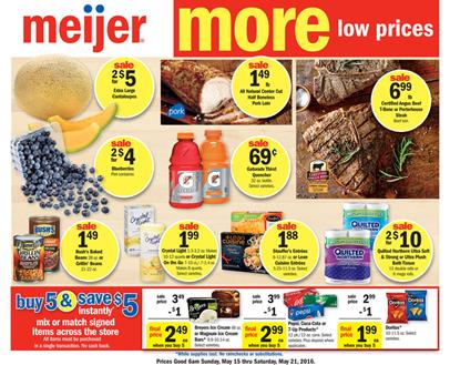 MEIJER AD MAY 15 2016