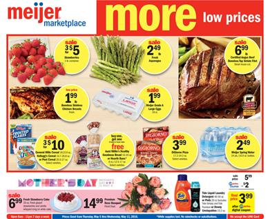 Meijer Ad May 9 2016 Buy 6 Save 6 Fresh and Deli