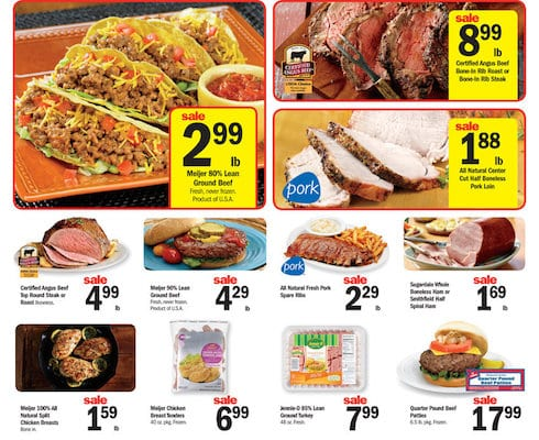 Meijer Weekly Ad Meat Offers Apr 2016