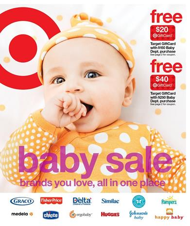 Target Weekly Ad Baby Sale May 2016