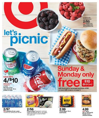 Target Weekly Ad May 29 - June 4 2016