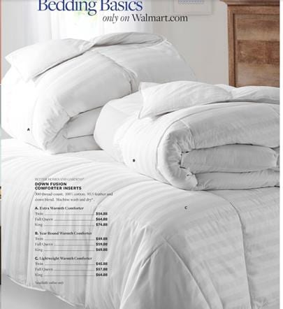 WALMART AD BEDROOM COMFORTERS MAY 15 2016