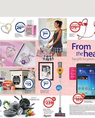 Walmart Mothers Day Gift Ideas Catalogue May 2016